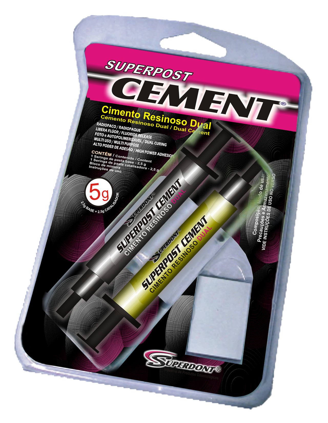 SUPERPOST CEMENT KIT 5g